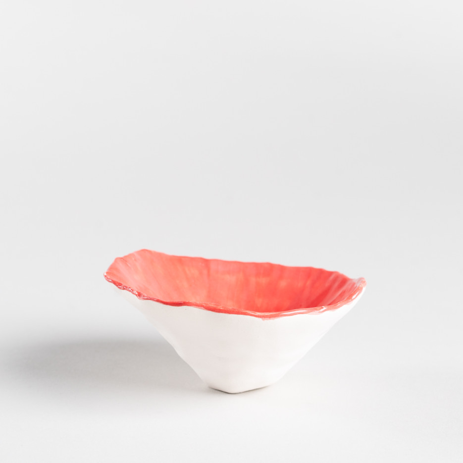 Image of Pink Bee & Flower Bowl