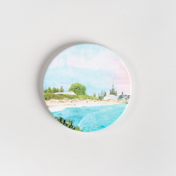 Image for Ceramic Coaster | Bathers Beach