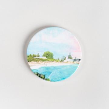 Image for Ceramic Coaster | Bathers Beach