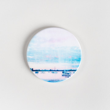 Image for Ceramic Coaster | Dusk at Matilda Bay