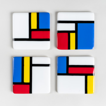 Image for Glass Coasters | Set of Four