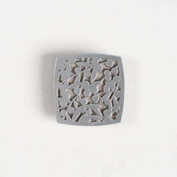 Image for Pewter Brooch | Wattle