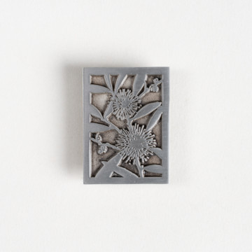 Image for Pewter Brooch | Hakea Laurina