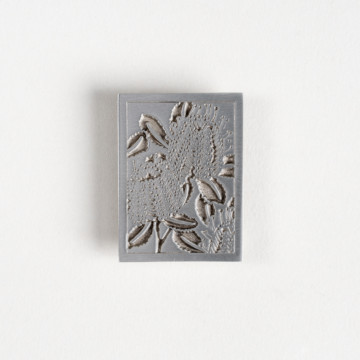Image for Pewter Brooch | Scarlet Banksia