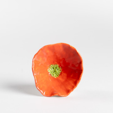 Image for Orange Flower Bowl