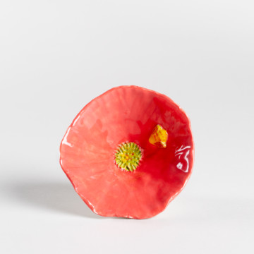 Image for Pink Bee & Flower Bowl
