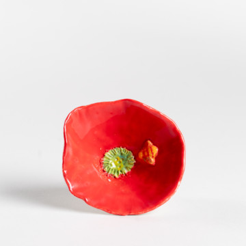 Image for Red Bee & Flower Bowl