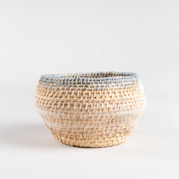 Image for Hand Dyed Woven Vessel