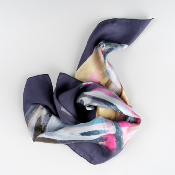 Image for Digitally Printed Silk Scarf