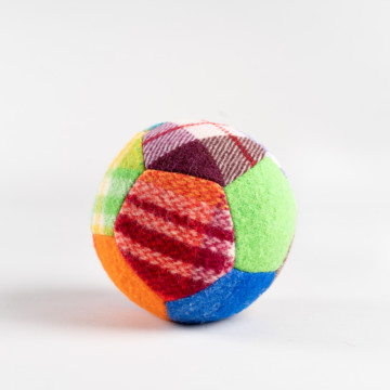 Image for Woollen Patchwork Ball | Small