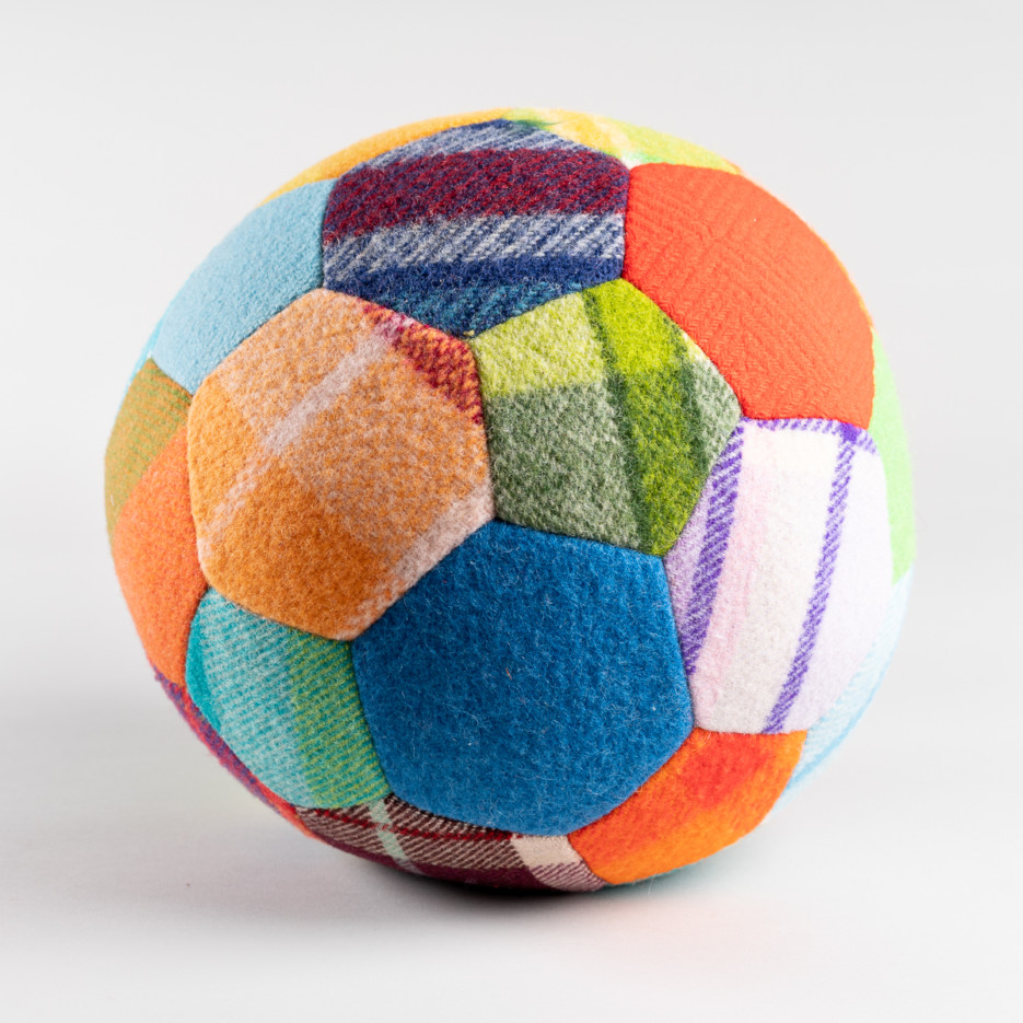 Image of Woollen Patchwork Ball | Large