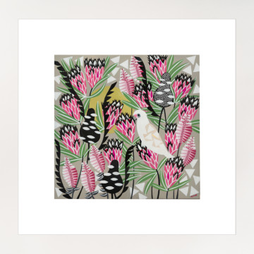 Image for Pink Mink Corellas | Print