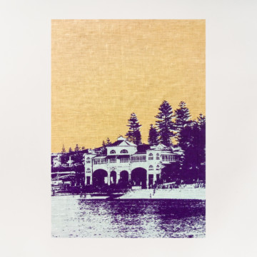 Image for Linen Tea Towel | Cottesloe Beach