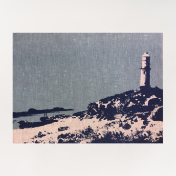 Image for Linen Tea Towel | Bathurst Point, Rottnest