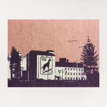 Image for Linen Tea Towel | Dingo Flour Mill