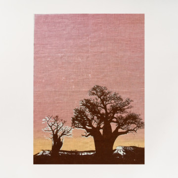 Image for Linen Tea Towel | Boab Trees Kimberleys