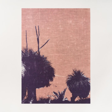 Image for Linen Tea Towel | Grass Trees