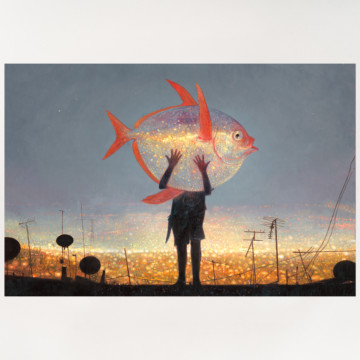 Image for Moon Fish |  Archival Print