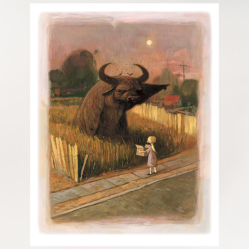 Image for The Water Buffalo | Archival Print