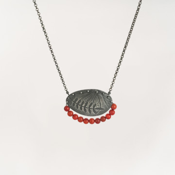 Image for Oxidised Sterling Silver Necklace