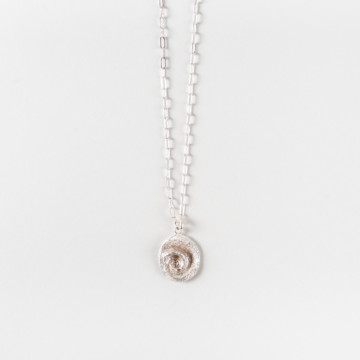 Image for Spiral Shell Necklace | Small