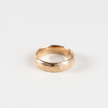 Image for Paisley Pattern Gold Ring