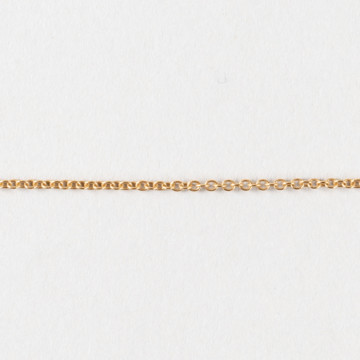Image for Solid 9ct gold cable chain