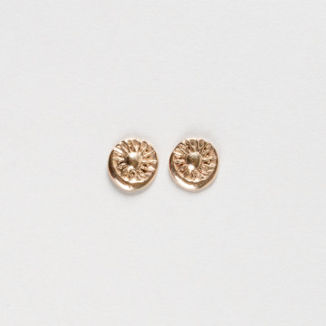 Image for Sun & Moon Stud Earrings