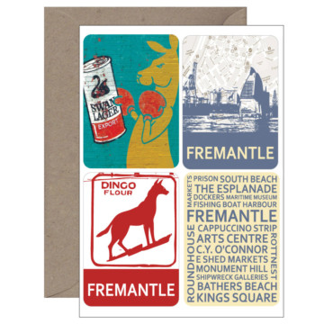Image for 4 Magnet Card | Fremantle