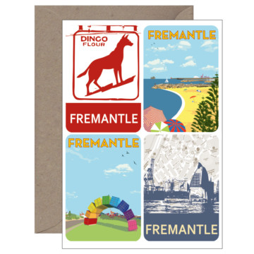 Image for 4 Magnet Card | Vintage Fremantle