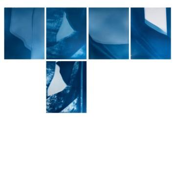 Image for Blue spectrum and descent (5 variations V2)