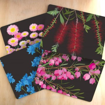 Image for Placemats | Midnight Bloom
