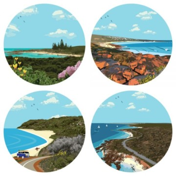 Image for Coasters | Vintage Down South
