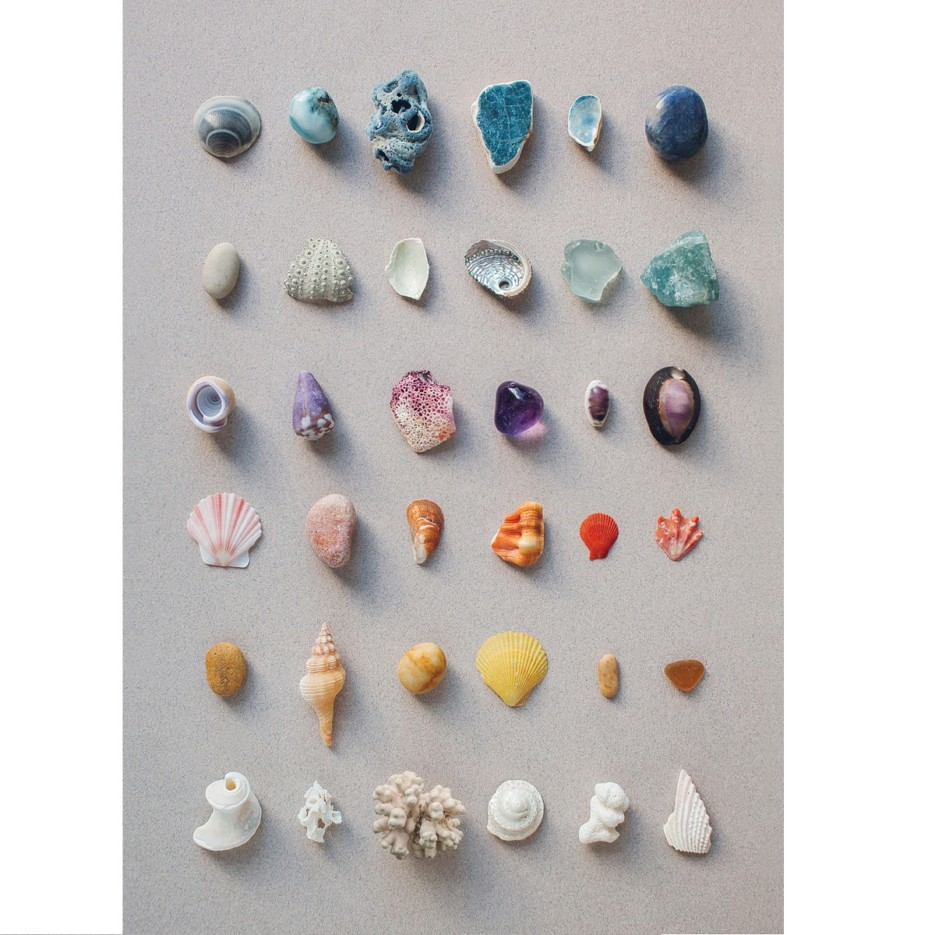Image of A4 Print | Rainbow Ocean Objects
