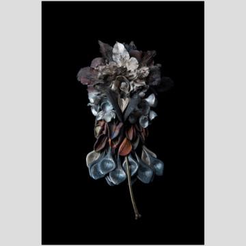 Image for F*#k Cluster Brooch - Gum leaves, banksia seed pod, orchid tongues', crown of thorns flowers, salt bush leaves | 2021